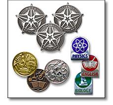 School achievement badges