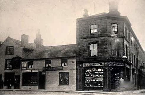 First Fattorini Shop Skipton High St in 1868