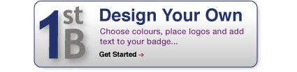 1st Badge weblink to Design your own name badge