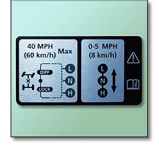 Vehicle plaque