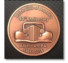 Buick Club of America medal