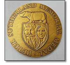 Peter Sutherland memorial medal