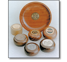 Wooden paper weights