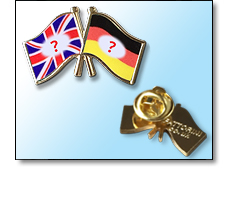 Friendship Flag pin badges - Choose your own from over 200 countries