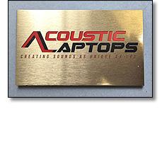 SIGN Acoustic Laptops
