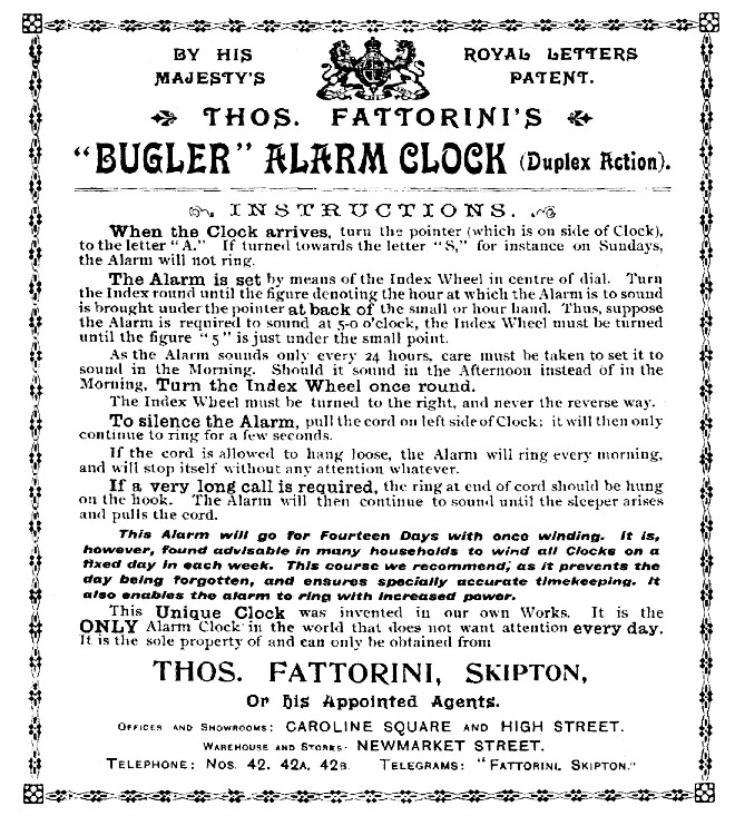 1912-Fattorini_Bugler_Alarm_Clock_Instructions