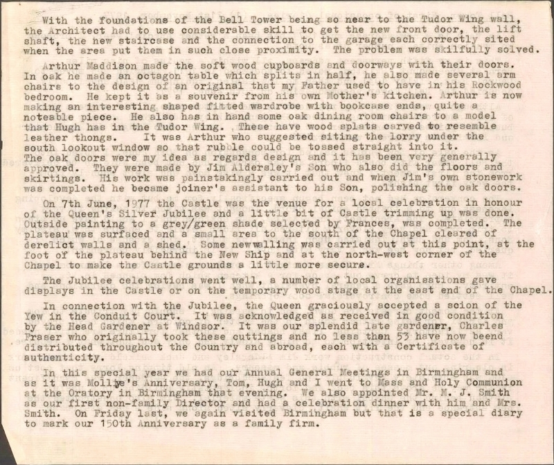 1977-WF Diary Entry 21st Nov 1977 p2